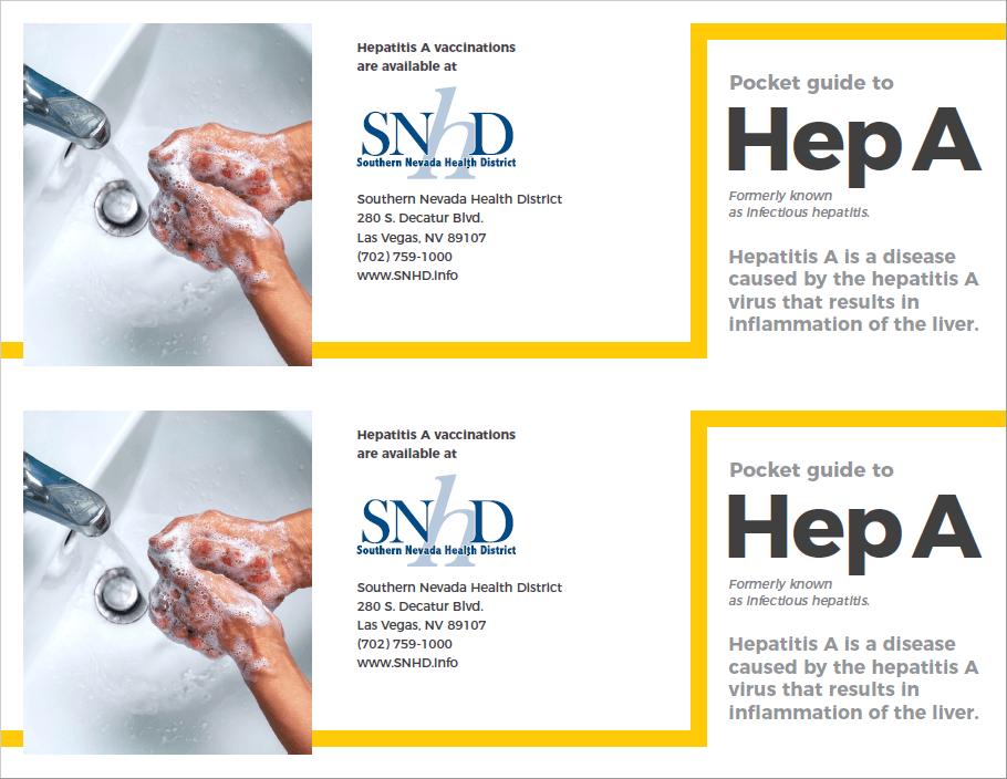 Hepatitis A Pocket Guide