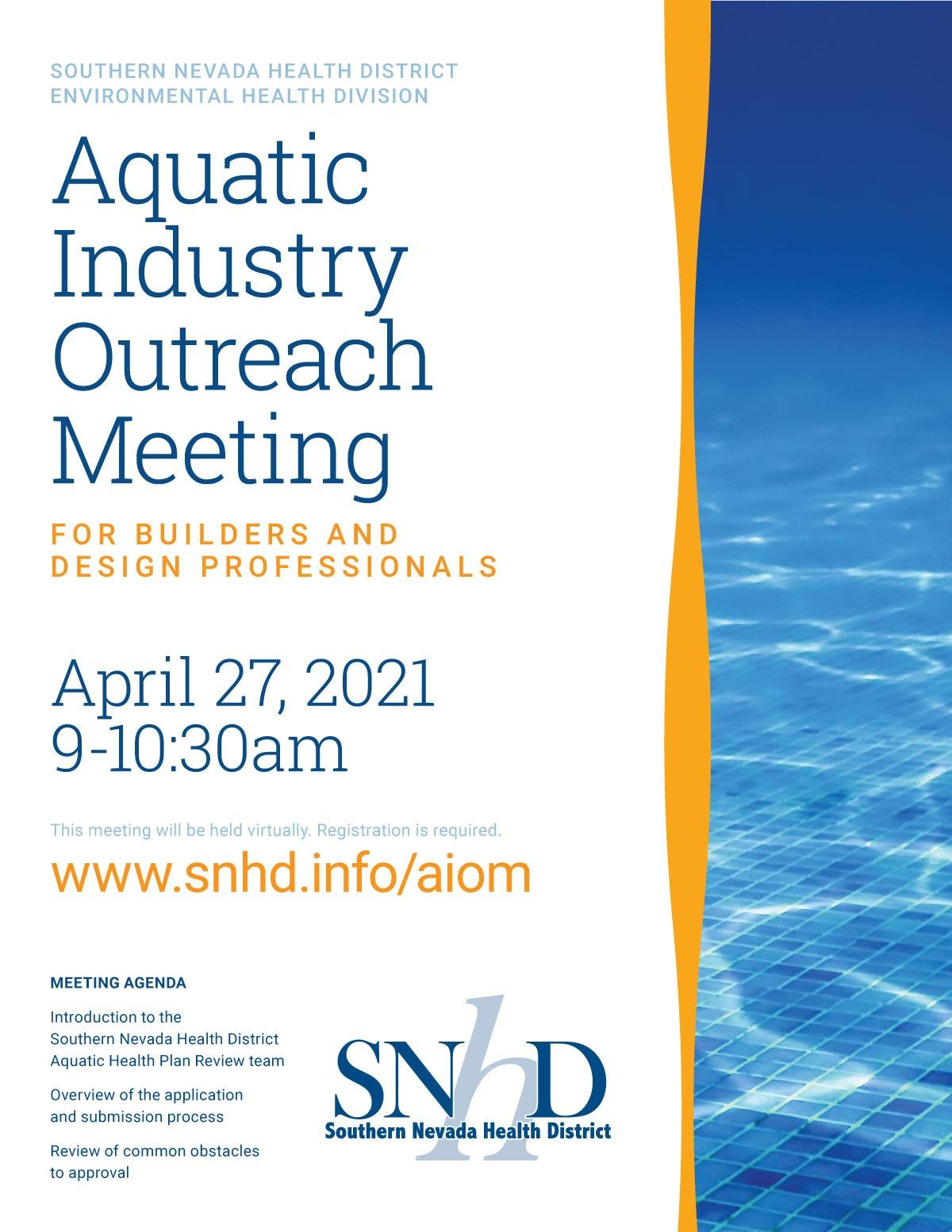 Aquatics Training Invitation - March 2021 PDF