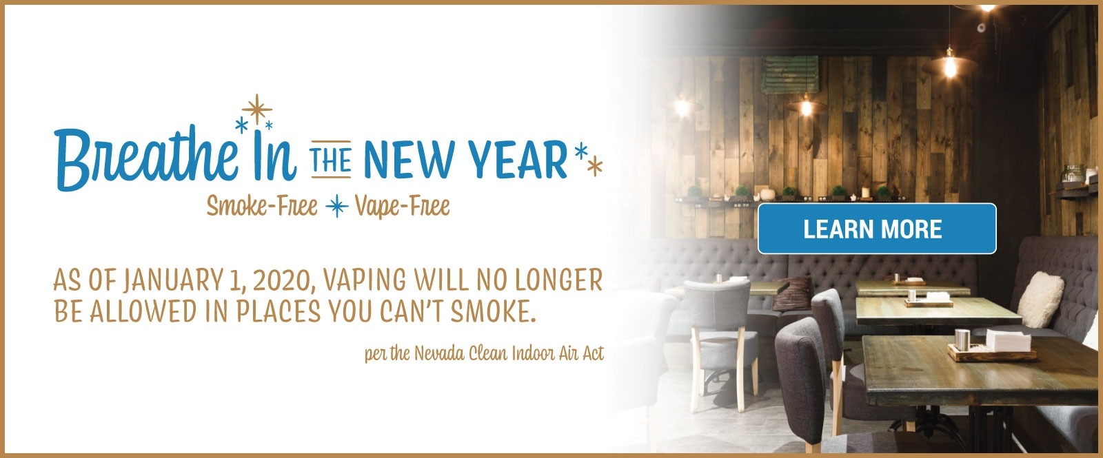 Breathe in the New Year: Smoke & Vape Free