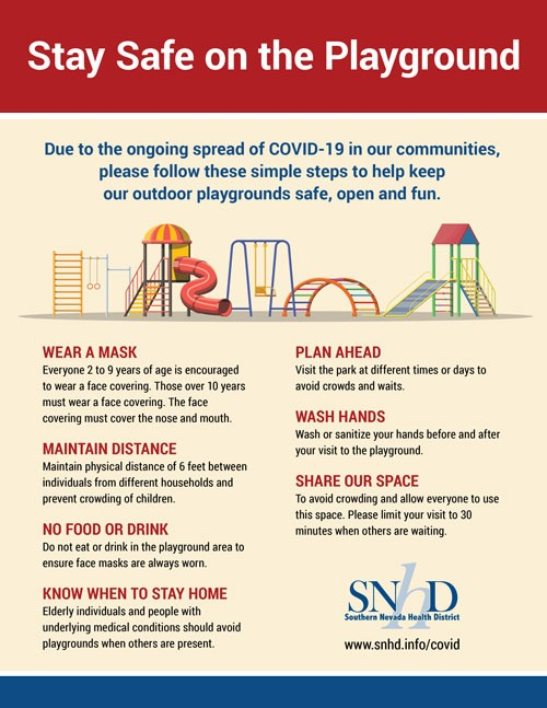 Stay Safe on the Playground